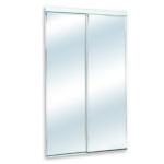 Biseauté coulissante miroir clair