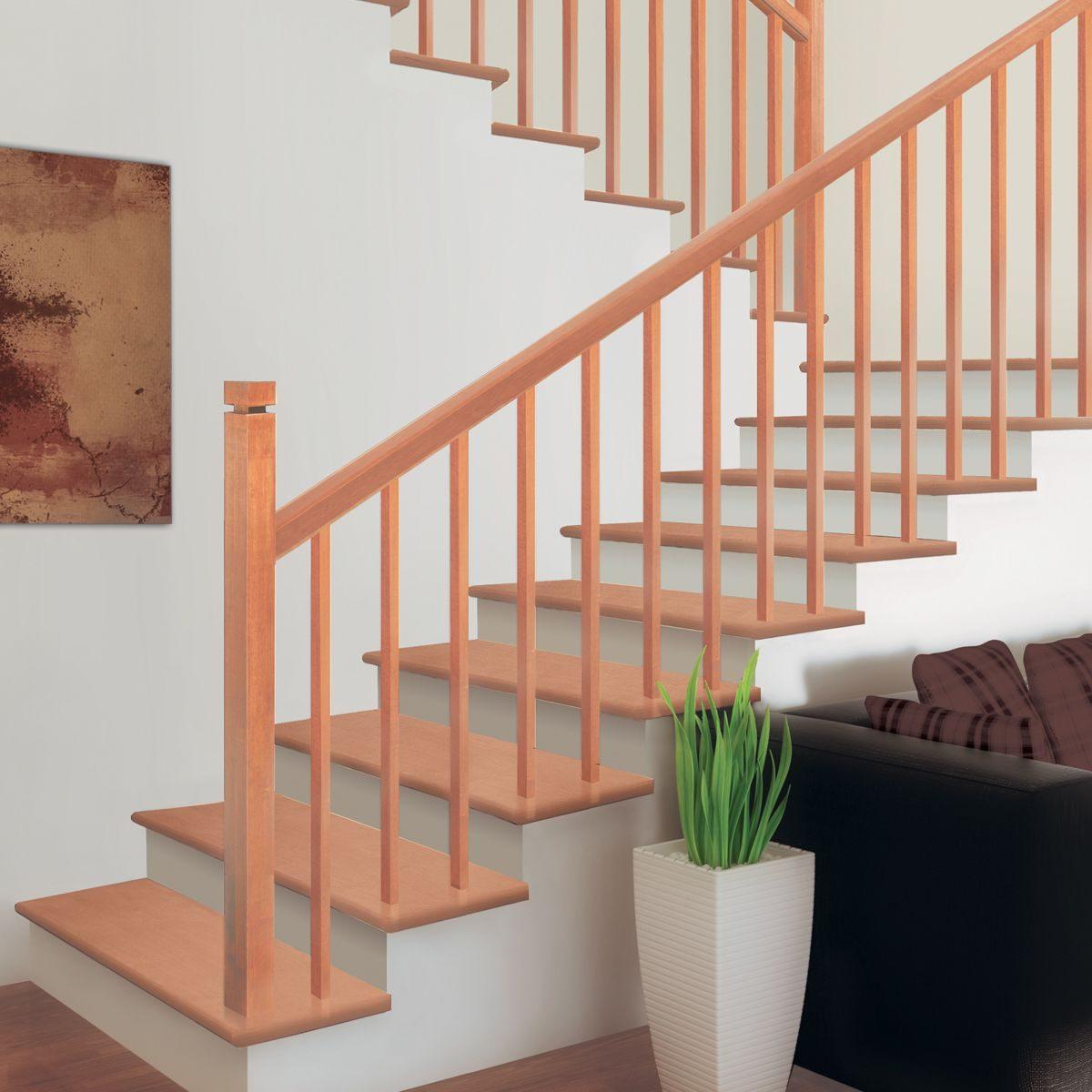 Rampe D Escalier Murale Bois rampes et composantes d'escalier – concept sga