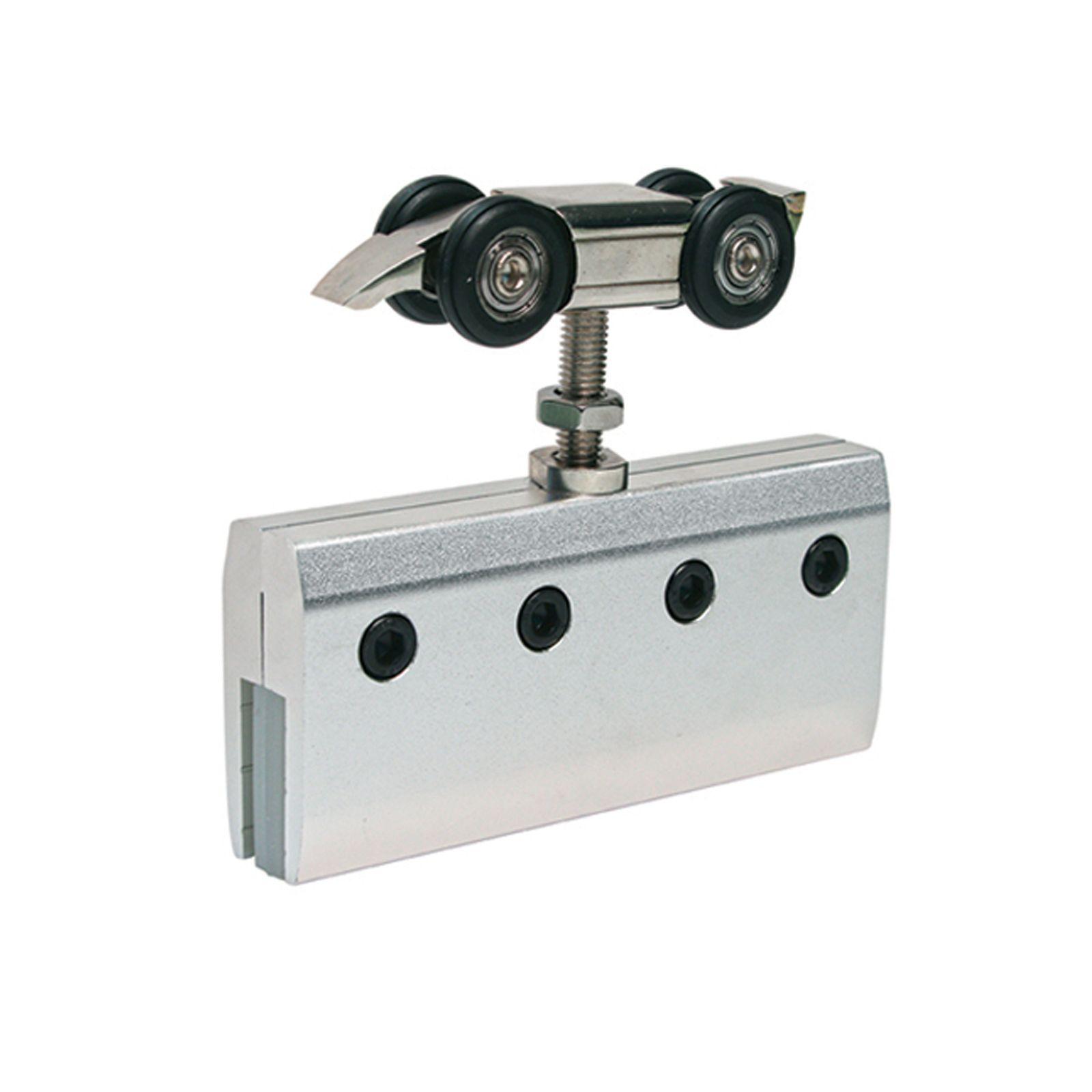 Grey aluminium roller